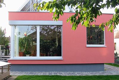 Wohnhausanbau