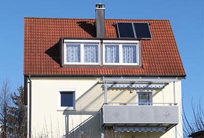 Ausbau DG, Dachgaube, Balkone