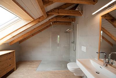 Badausbau Dachgeschoss