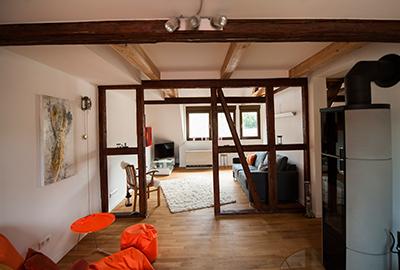 Wohnungsrenovierung Dachgeschoss